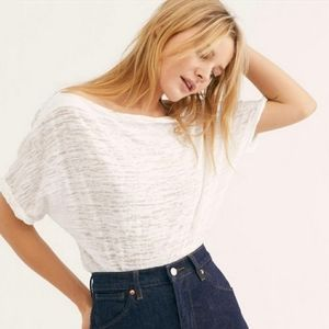 Free People Astrid Convertible Neck T-Shirt